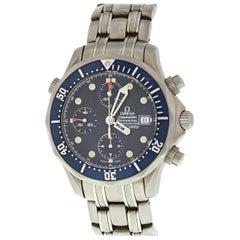 Omega Seamaster Titan Chronograph 2298.80.00 Titanium Men's Watch