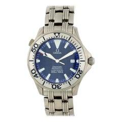 Omega Seamaster Titanium Electric Blue Dial  2231.80 Men's Watch