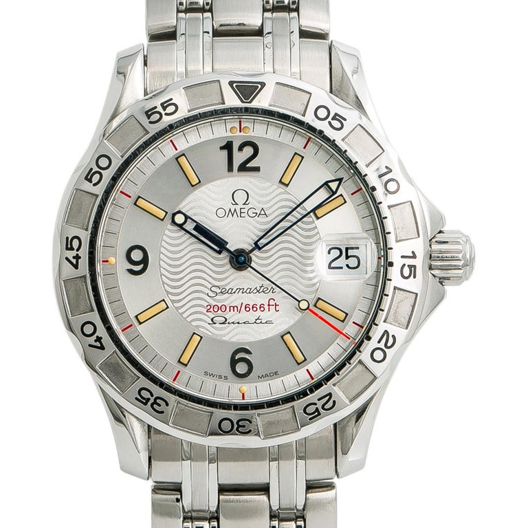 Women's Omega Seamaster 1961526, Silver Dial Certified Authentic For Sale