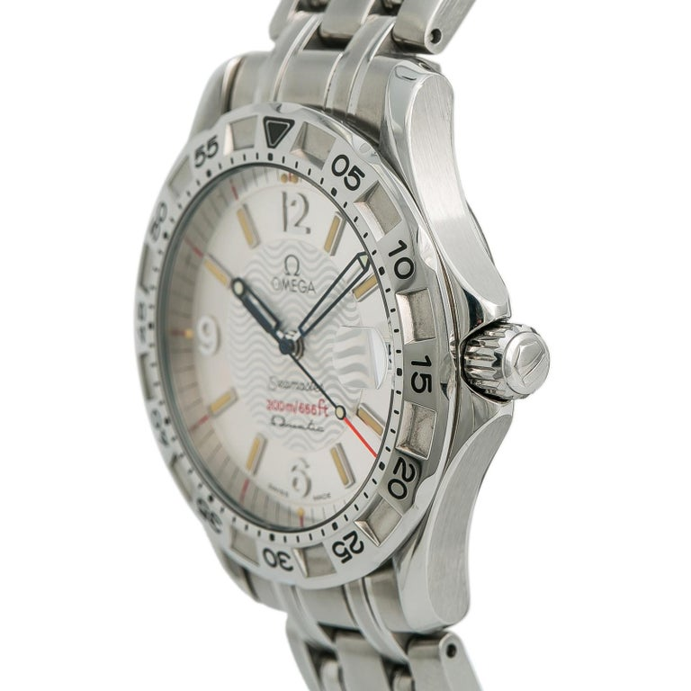 Omega Seamaster 1961526, Silver Dial Certified Authentic For Sale 1
