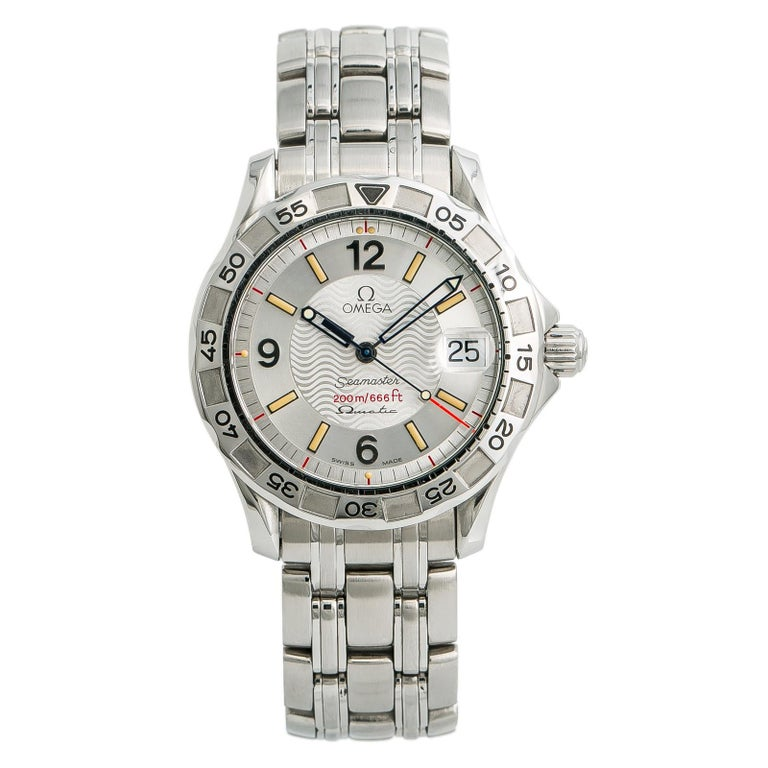 Omega Seamaster 1961526, Silver Dial Certified Authentic For Sale