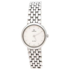 Omega Silver White Stainless