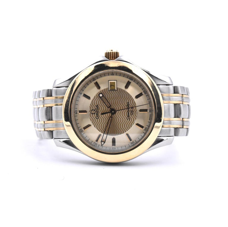Omega Speed Master Champagne Wave Dial Watch Ref. 2311.21.00 In Excellent Condition For Sale In Scottsdale, AZ
