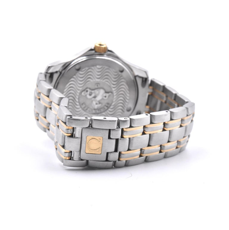 Women's or Men's Omega Speed Master Champagne Wave Dial Watch Ref. 2311.21.00 For Sale
