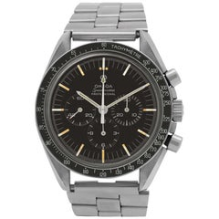 Omega Speedmaster 145.012, Gold Dial, Certified and Warranty