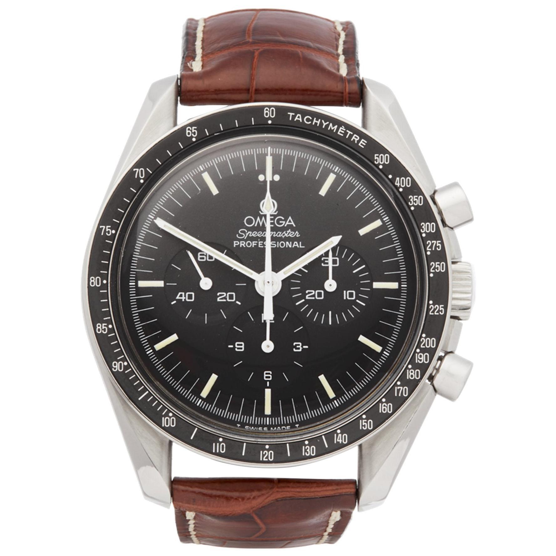 Omega Speedmaster 145.022 Men's Stainless Steel Chronograph Watch