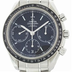 Omega Speedmaster 326.30.40.50.01.001 with Band and Black Dial