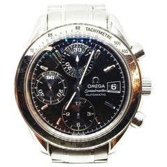 Omega Speedmaster 3513.50.00 Automatic Wristwatch for Men Black Stainless Steel