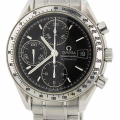 Omega Speedmaster 3513.50.00 with Band and Black Dial Certified Pre-Owned