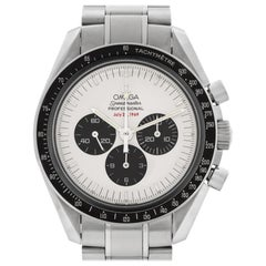 Omega Speedmaster 35693100 Stainless Steel White Dial Manual Watch