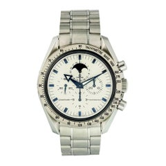 Omega Speedmaster 3575.20.00, White Dial, Certified and Warranty