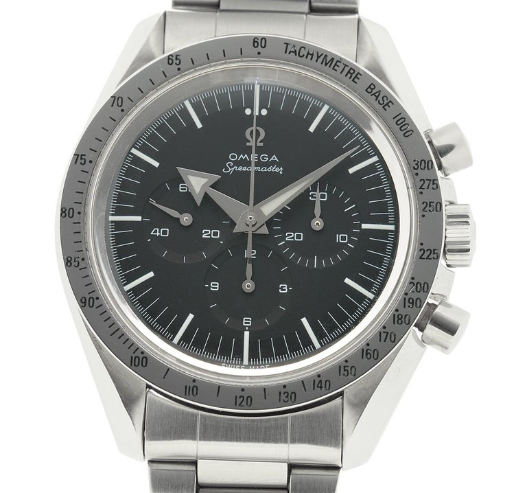 Omega Speedmaster 3594.50.00, Black Dial, Certified and Warranty In Excellent Condition For Sale In Miami, FL