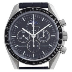 Omega Speedmaster 3876.50.31, Black Dial, Certified and Warranty