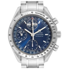 Omega Speedmaster Day-Date Blue Dial Men's Watch 3523.80.00