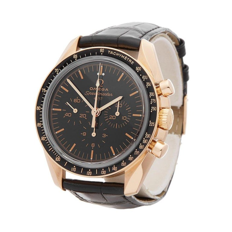 Ref: W6152 Manufacturer: Omega Model: Speedmaster Model Ref: 31163425001001 Age: Circa 2010's Gender: Mens Complete With: Box & Card Holder Dial: Black Baton Glass: Sapphire Crystal Movement: Mechanical Wind Water Resistance: To Manufacturers