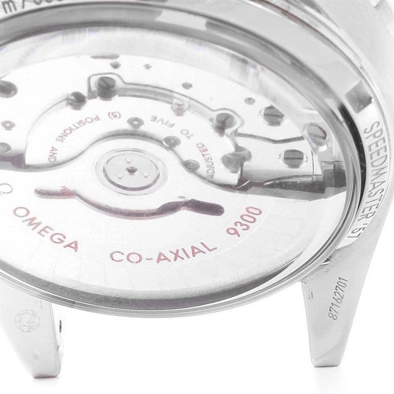 Omega Speedmaster 57 Broad Arrow Watch 331.10.42.51.01.002 Box Card For Sale 3