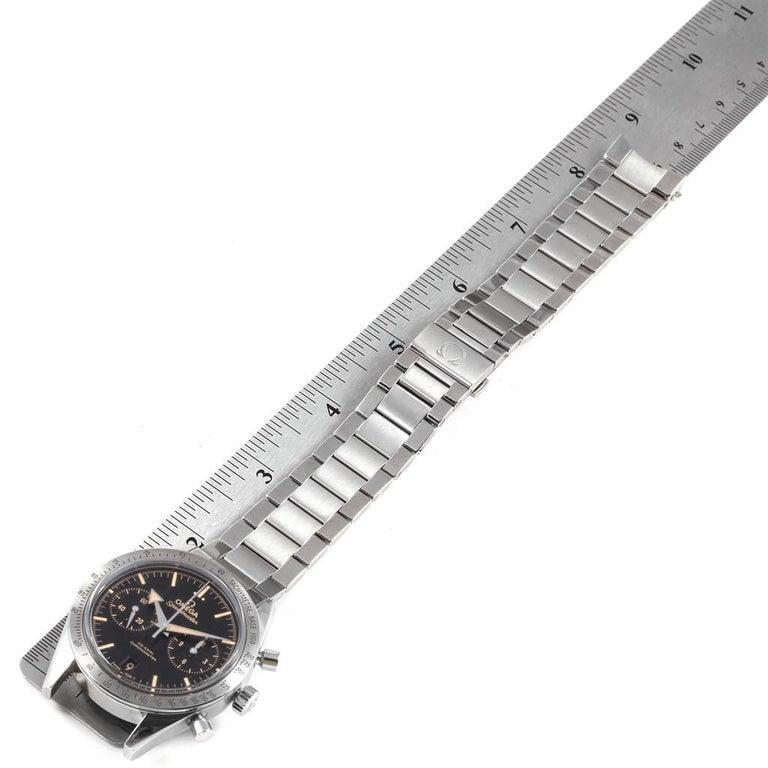 Omega Speedmaster 57 Broad Arrow Watch 331.10.42.51.01.002 Box Card For Sale 5