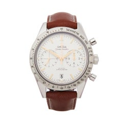 Omega Speedmaster 57' Stainless Steel 33112425102002 Gents Wristwatch