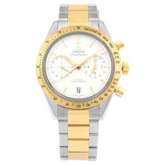 Omega Speedmaster '57 Steel Yellow Gold Automatic Mens Watch 331.20.42.51.02.001