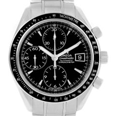 Omega Speedmaster Black Dial Automatic Men's Watch 3210.50.00 Card