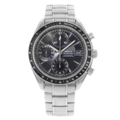 Omega Speedmaster Black on Black Steel Automatic Men's 3210.50.00 Mint B/P