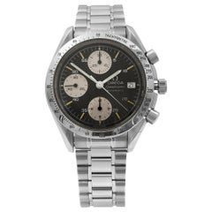 Omega Speedmaster Black Stick Dial Steel Automatic Men's Watch 3511.50.00