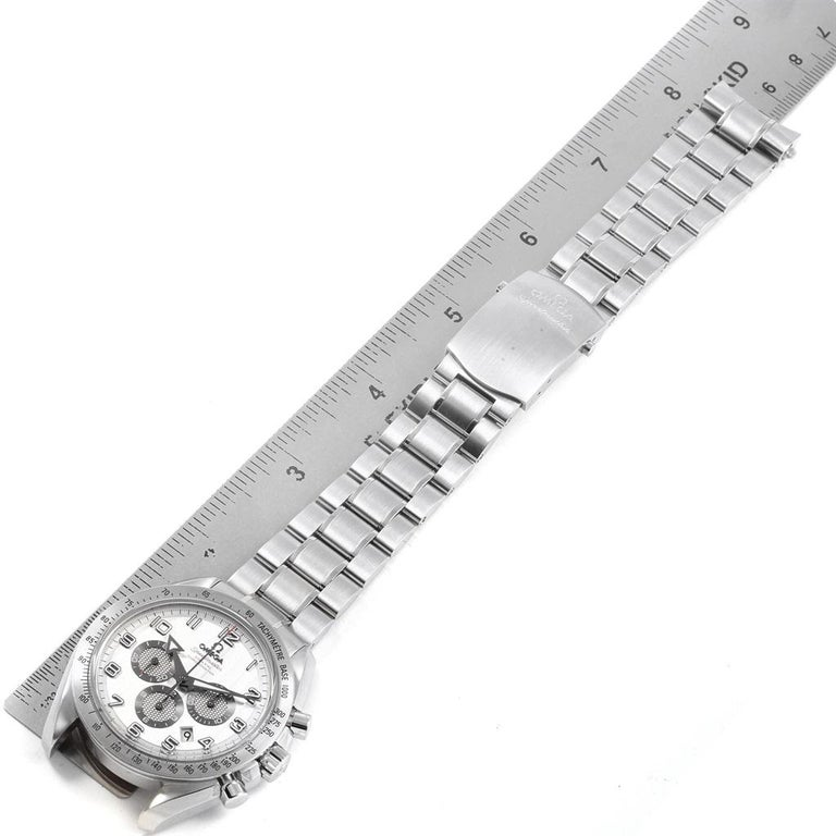 Omega Speedmaster Broad Arrow Silver Dial 321.10.44.50.02.001 Box For Sale 6