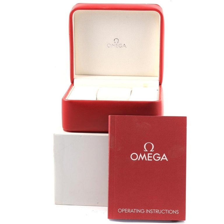 Omega Speedmaster Broad Arrow Silver Dial 321.10.44.50.02.001 Box For Sale 7