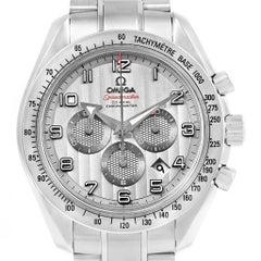 Omega Speedmaster Broad Arrow Silver Dial Watch 321.10.44.50.02.001 Box Cards