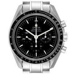 Omega Speedmaster Chronograph Black Dial Men's Moon Watch 3570.50.00