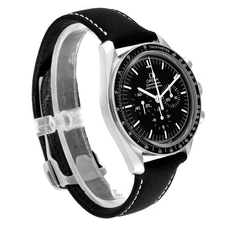 Omega Speedmaster Chronograph Black Dial Men's MoonWatch 3570.50.00 In Excellent Condition For Sale In Atlanta, GA