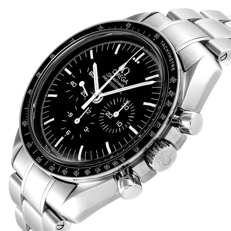Omega Speedmaster Chronograph Black Dial Men's MoonWatch 3570.50.00 2