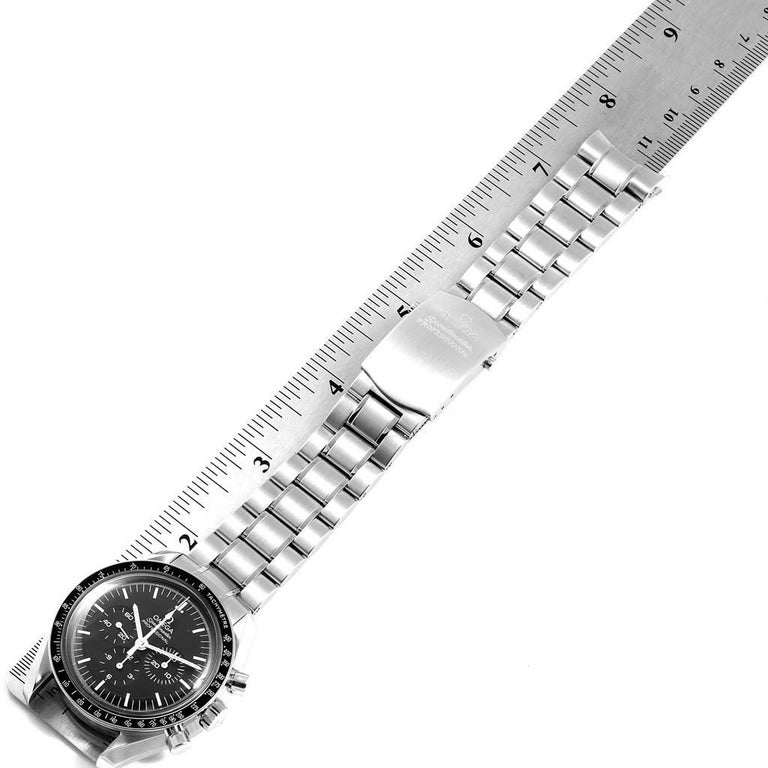 Omega Speedmaster Chronograph Black Dial Men's MoonWatch 3570.50.00 5