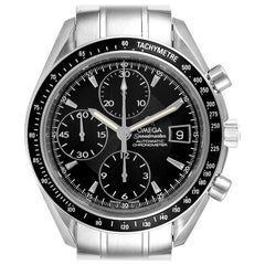 Omega Speedmaster Chronograph Black Dial Men's Watch 3210.50.00 Card