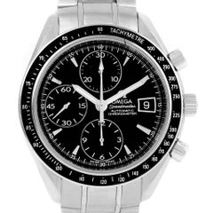 Omega Speedmaster Chronograph Black Dial Men's Watch 3210.50.00 Papers