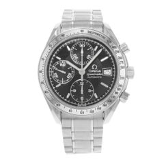Omega Speedmaster Chronograph Black Dial Steel Automatic Men's Watch 3513.50.00