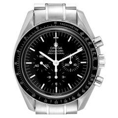 Omega Speedmaster Chronograph Steel Men's Moon Watch 3570.50.00 Card