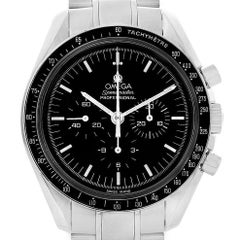 Omega Speedmaster Chronograph Steel Men's Moon Watch 3570.50.00 Card