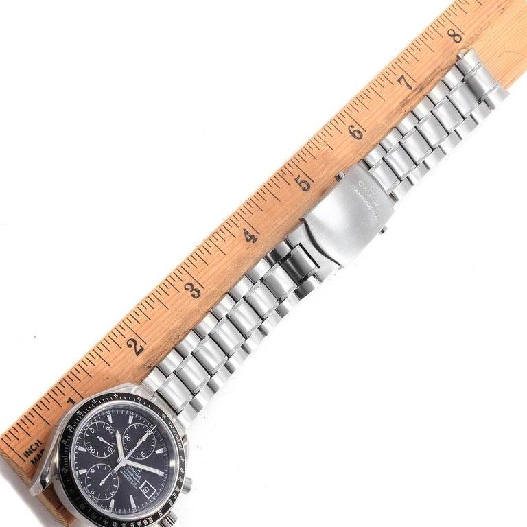 Omega Speedmaster Chronograph Steel Men's Watch 3210.50.00 For Sale 7