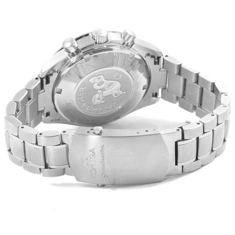 Omega Speedmaster Chronograph Steel Men's Watch 3210.50.00 For Sale 3
