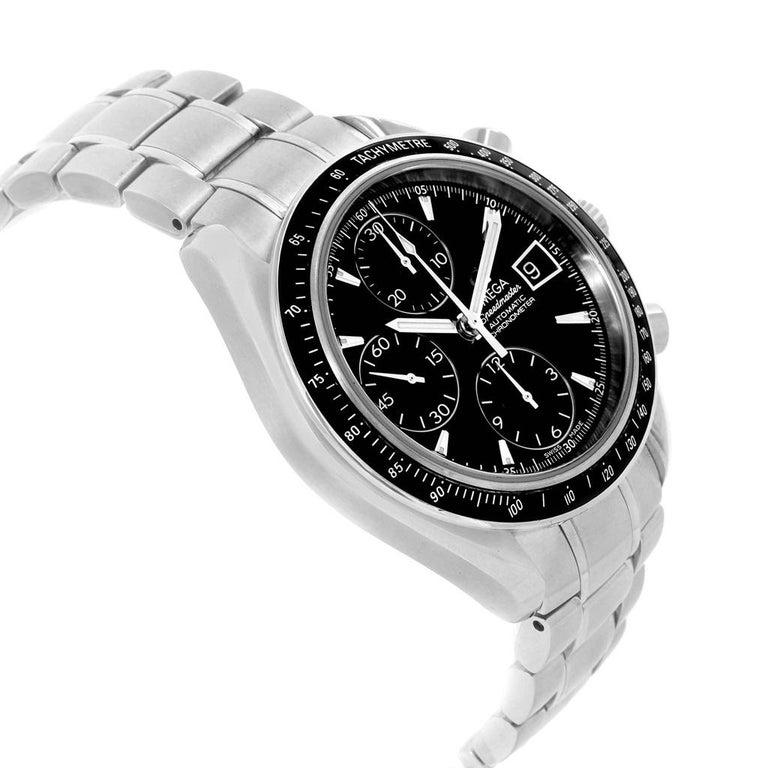 Omega Speedmaster Chronograph Steel Men's Watch 3210.50.00 For Sale 4