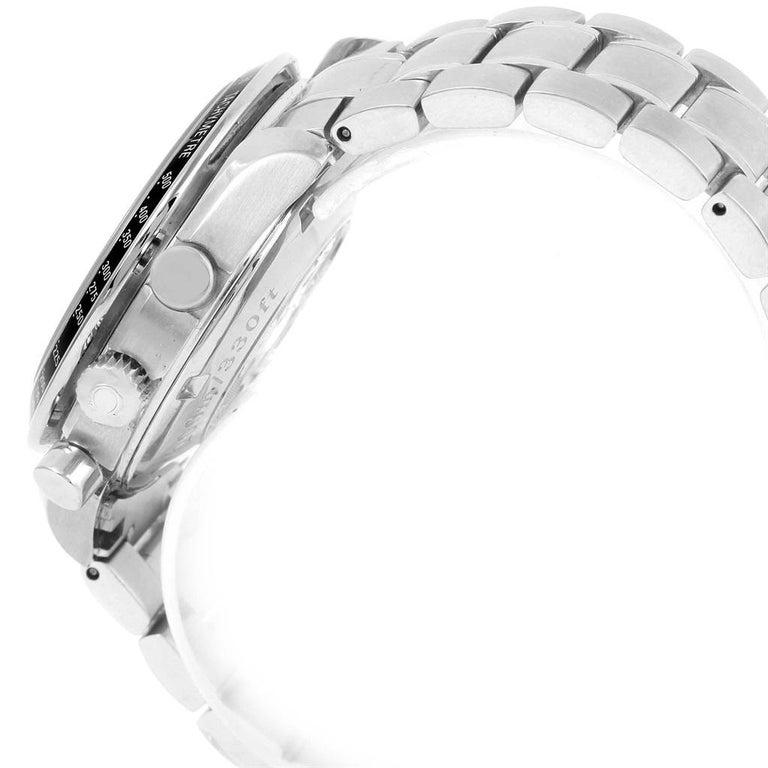 Omega Speedmaster Chronograph Steel Men's Watch 3210.50.00 For Sale 6