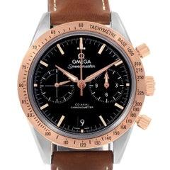 Omega Speedmaster Chronograph Steel Rose Gold Watch 331.22.42.51.01.001