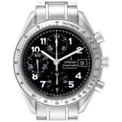 Omega Speedmaster Date Black Arabic Dial Steel Men's Watch 3513.52.00