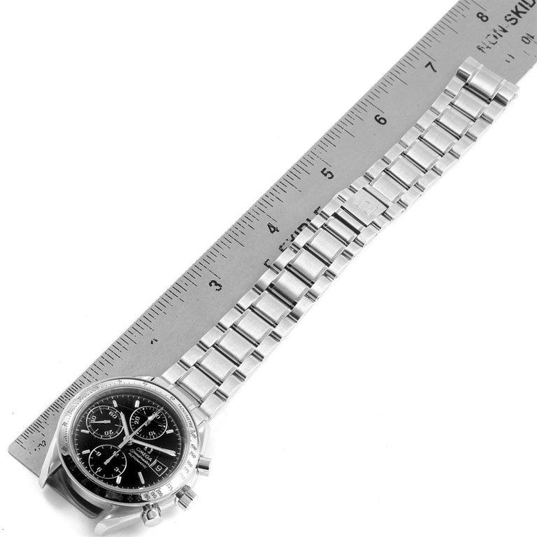 Omega Speedmaster Date Black Dial Steel Men's Watch 3513.50.00 For Sale 6