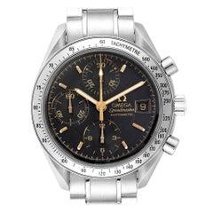 Omega Speedmaster Date Black Dial Steel Men's Watch 3513.54.00 Card