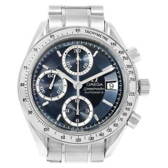 Omega Speedmaster Date Blue Grey Dial Men's Watch 3513.46.00