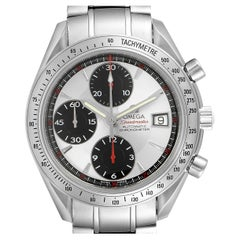 Omega Speedmaster Date Panda Dial Chronograph Mens Watch 3211.31.00