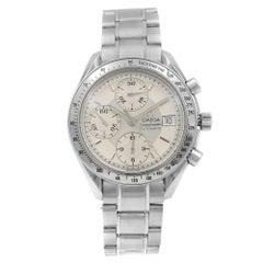 Omega Speedmaster Date Steel Silver Dial Automatic Men's Watch 3513.30.00