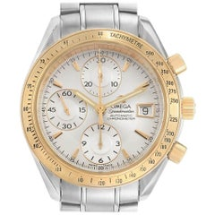 Omega Speedmaster Date Steel Yellow Gold Watch 323.21.40.40.02.001